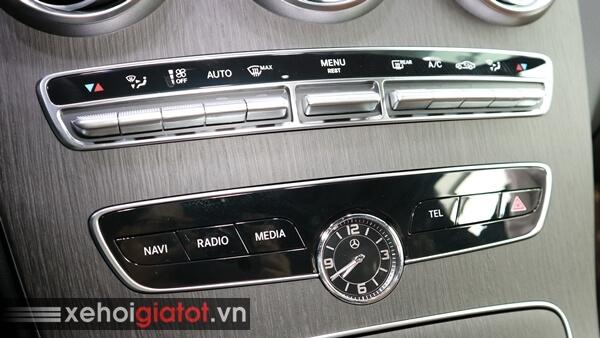 Hệ thống điều hòa xe Mercedes C300 AMG