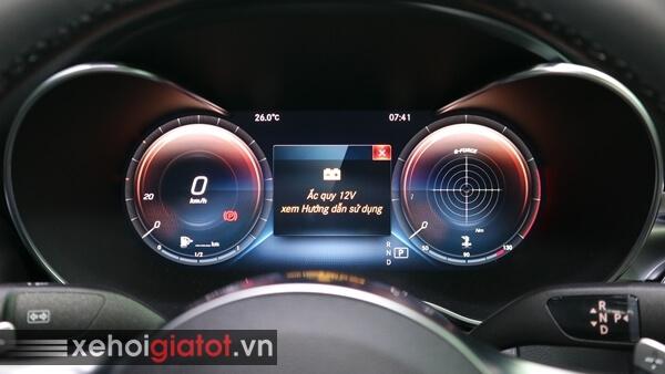 Cụm đồng hồ trung tâm xe Mercedes C300 AMG