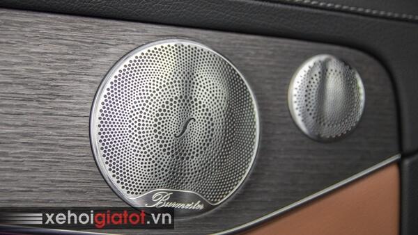 Dàn âm thanh xe Mercedes C300 AMG