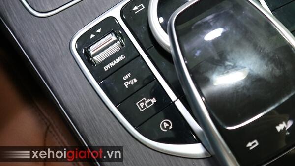 Chế độ giữ phanh tự động xe Mercedes C300 AMG
