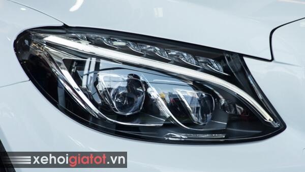 Cụm đèn trước xe Mercedes C300 Coupe