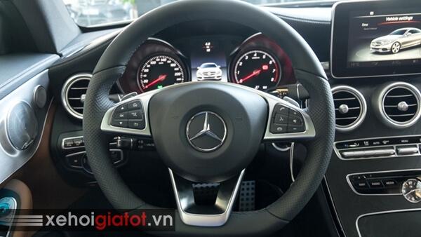 Vô lăng xe Mercedes C300 Coupe