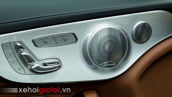 Dàn âm thanh xe Mercedes C300 Coupe