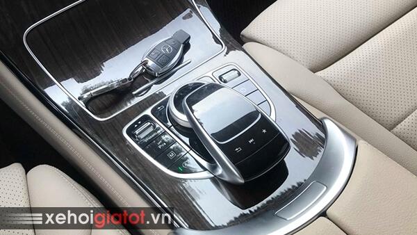 Cụm phím điều khiển trung tâm xe Mercedes GLC 200 2018 cũ