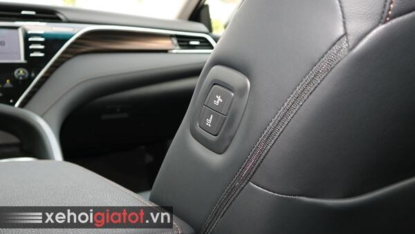 Chỉnh điện ghế phụ xe Camry 2.0G