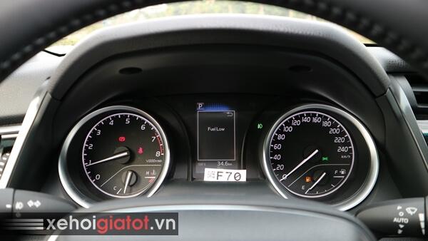 Cụm đồng hồ trung tâm xe Camry 2.0G