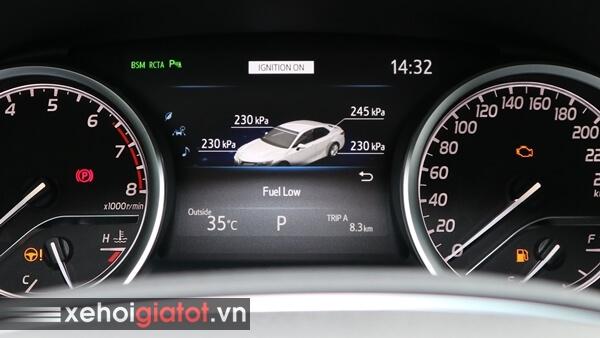 Cảnh báo áp suất lốp xe Camry 2.5Q