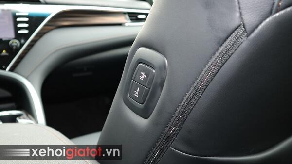 Phím điều chỉnh ghế phụ xe Camry 2.5Q