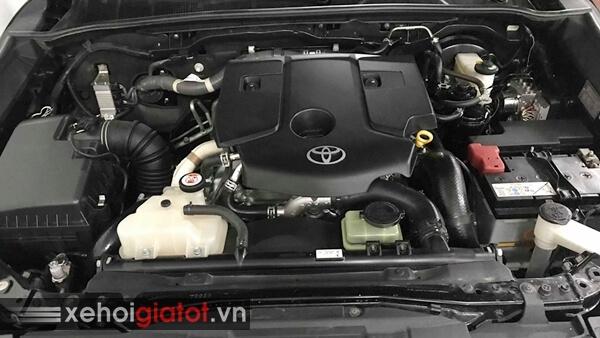 Động cơ xe Toyota Fortuner 2.4G MT 2017 cũ