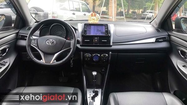 Nội thất xe Toyota Vios 1.5G AT 2014 cũ