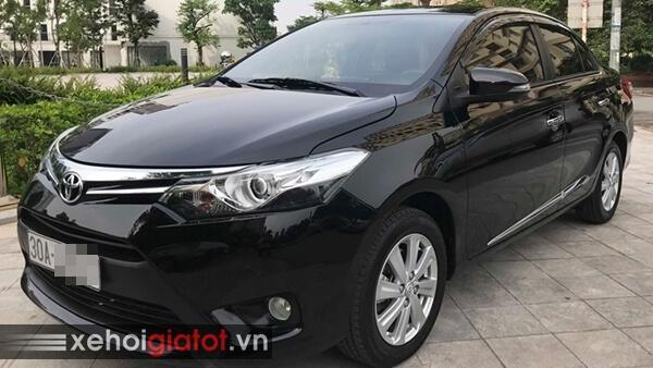 Ngoại thất xe Toyota Vios 1.5G AT 2014 cũ