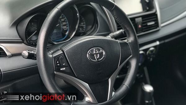 Vô lăng xe Toyota Vios 1.5G AT 2014 cũ