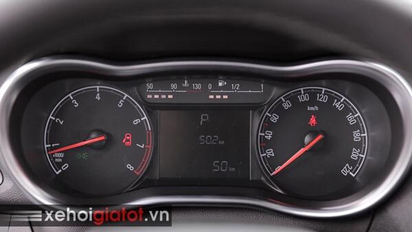 Bảng đồng hồ trung tâm xe Fadil 1.4 CVT tiêu chuẩn