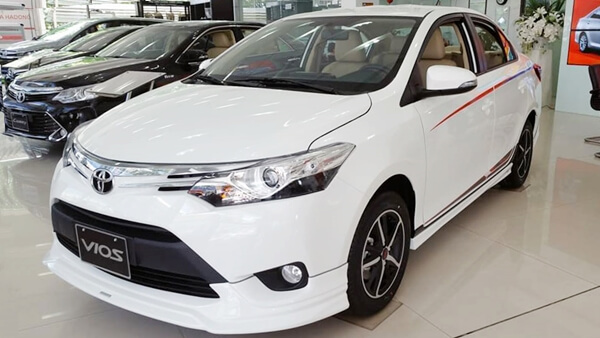 Toyota Vios TRD Sportivo 1.5G AT 2018