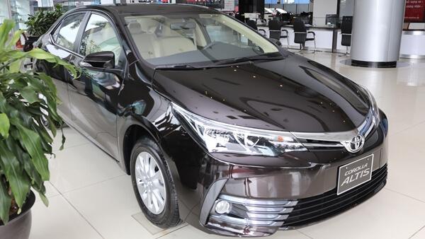Toyota Corolla Altis 1.8E CVT 2019