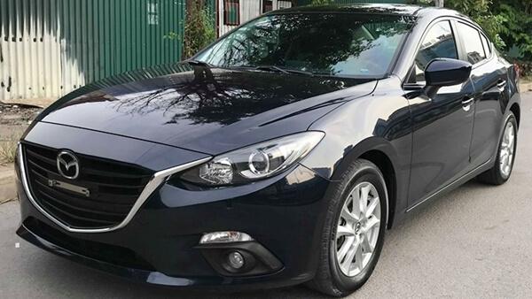 Bán xe Mazda 3 sedan 1.5 AT 2016 cũ màu xanh cửu long 3,6 vạn km
