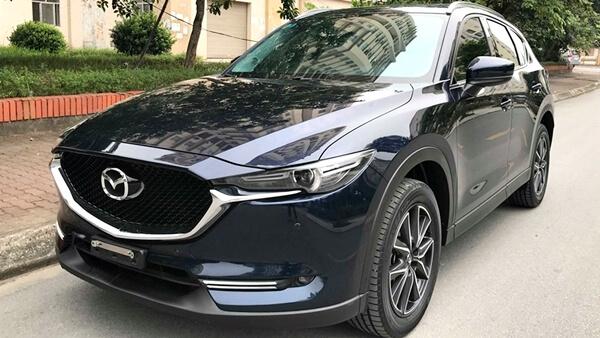 Bán Xe Mazda Cx 5 20 At 2018 Cũ Màu Trắng Chạy Chuẩn 16 Vạn Km