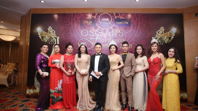 Họp báo Oscar for beauty 2018