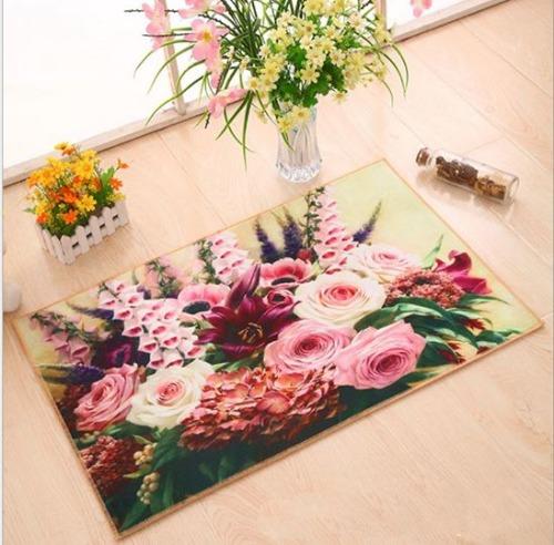 Thảm hoa lớn 3D siêu mịn