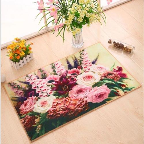 Thảm hoa nhỏ 3D siêu mịn