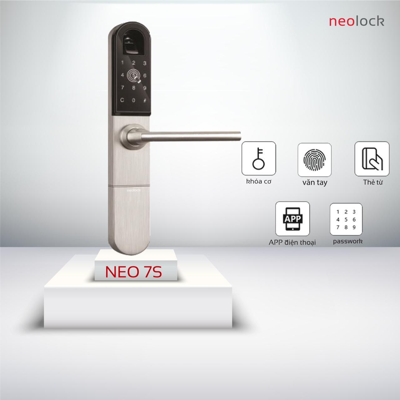 Khóa điện tử cao cấp NeO7s