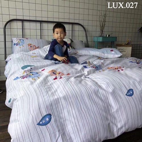 Bộ vỏ chăn ga gối Luxury - LUX.027