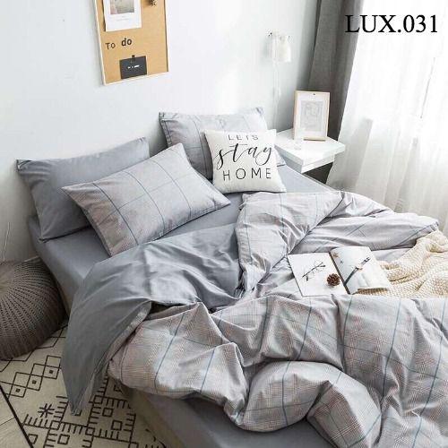 Bộ vỏ chăn ga gối Luxury - LUX.031
