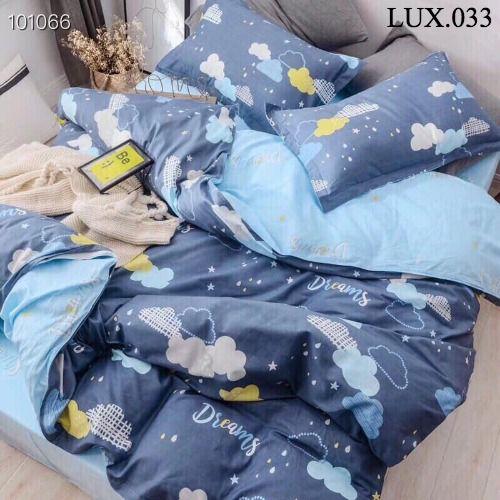 Bộ vỏ chăn ga gối Luxury - LUX.033