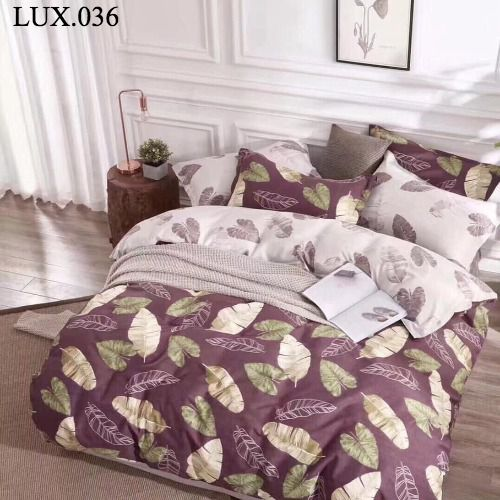 Bộ vỏ chăn ga gối Luxury - LUX.036