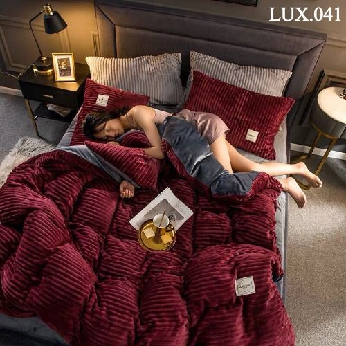 Bộ vỏ chăn ga gối Luxury - LUX.041