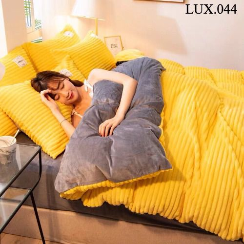 Bộ vỏ chăn ga gối Luxury - LUX.044