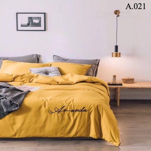 Bộ vỏ chăn ga gối Standard Amanda - A.021