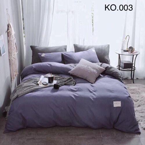 Bộ vỏ chăn ga gối Standard Hàn - KO.003