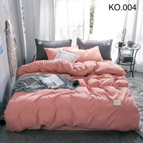 Bộ vỏ chăn ga gối Standard Hàn - KO.004