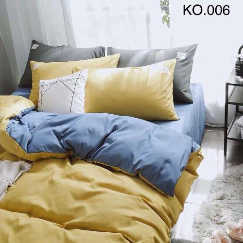 Bộ vỏ chăn ga gối Standard Hàn - KO.006