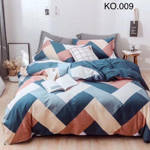 Bộ vỏ chăn ga gối Standard Hàn - KO.009