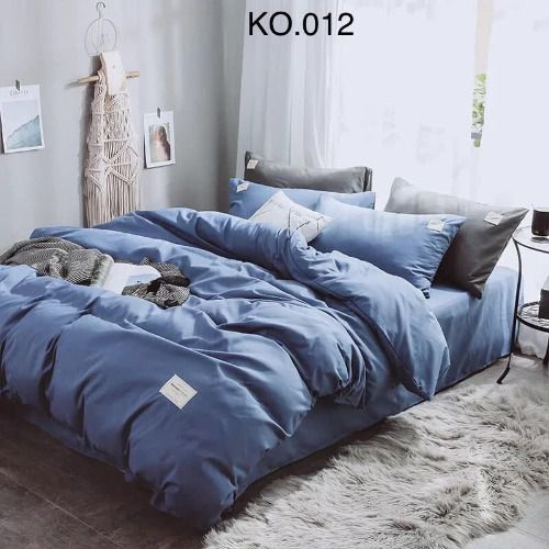 Bộ vỏ chăn ga gối Standard Hàn - KO.012