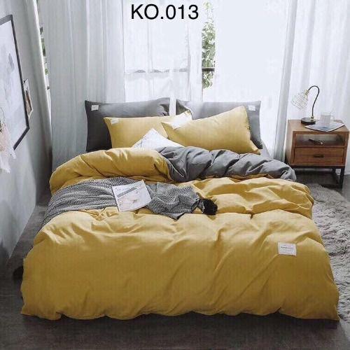 Bộ vỏ chăn ga gối Standard Hàn - KO.013