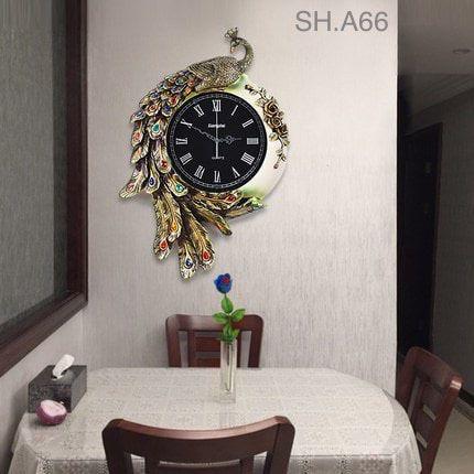 Đồng hồ treo tường trang trí - A66