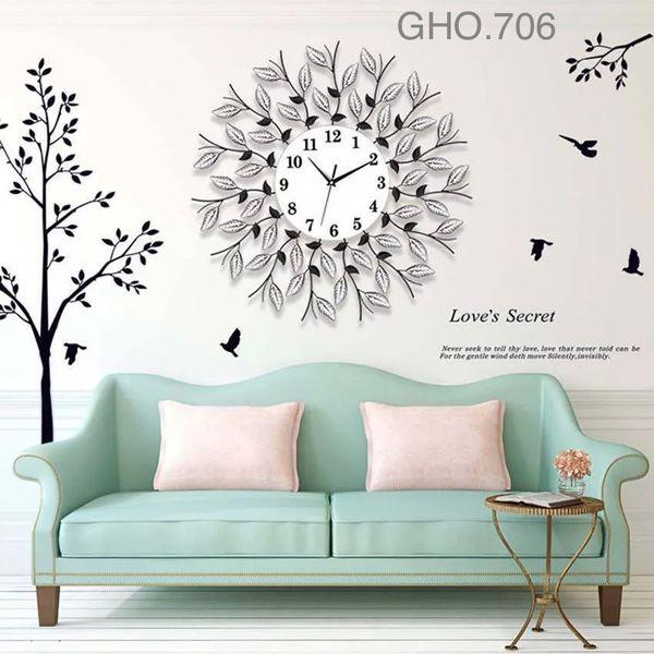 Đồng hồ treo tường trang trí - GHO.706