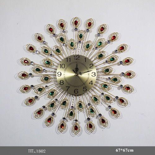 Đồng hồ treo tường trang trí - HL.1802