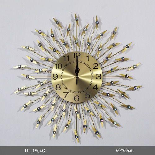 Đồng hồ treo tường trang trí - HL.1804G