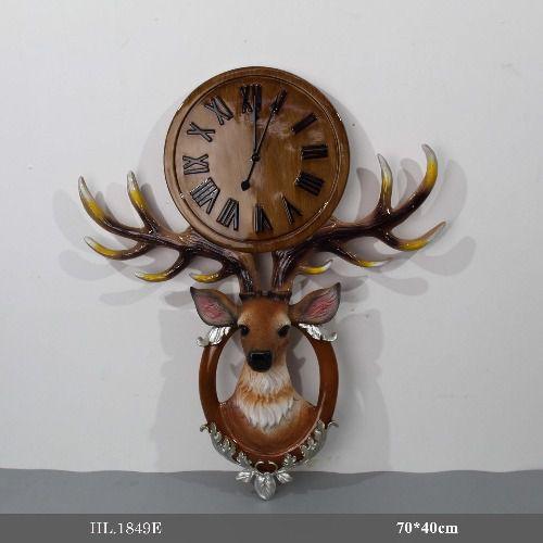 Đồng hồ treo tường trang trí - HL.1849E