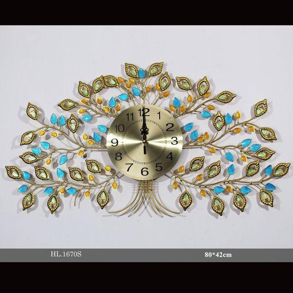 Đồng hồ treo tường trang trí - HL1670S