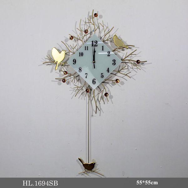 Đồng hồ treo tường trang trí - HL1694SB