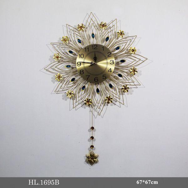 Đồng hồ treo tường trang trí - HL1695B