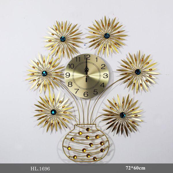 Đồng hồ treo tường trang trí - HL1696