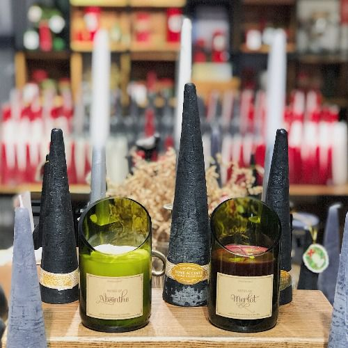 Nến chai rượu vang Wine Bottle Candle