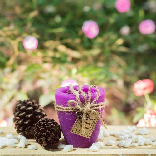 Nến chậu cây Garden Candle size 120 x 140 mm