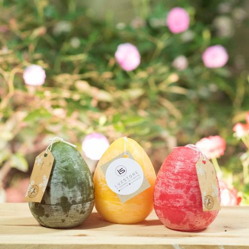 Nến trứng Egg Candle size 90 x 110 mm